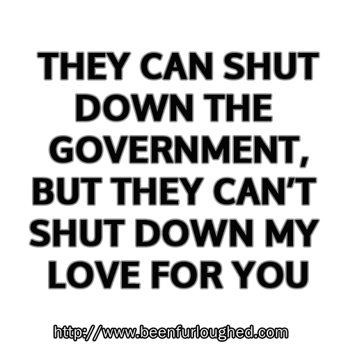 They can shut down the government...